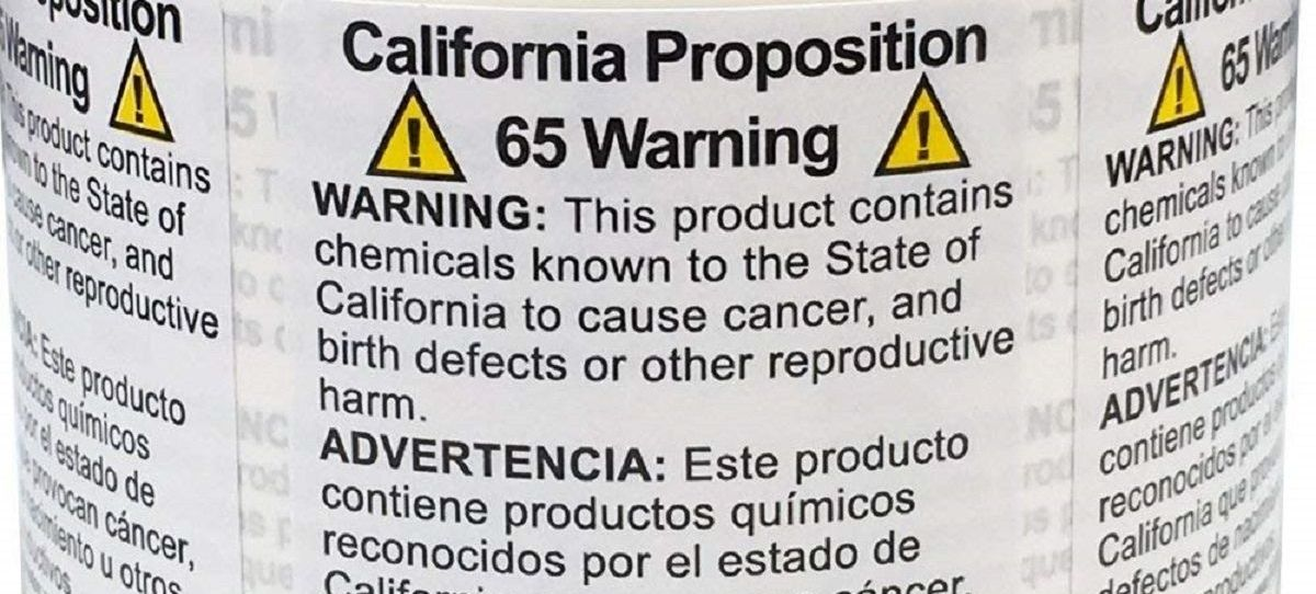 Updates to California Proposition 65 Affect Retailers and their Suppliers
