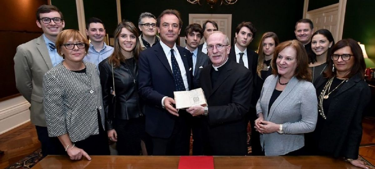 16th Century Book by Anti-Machiavellian Jesuit Gifted to University