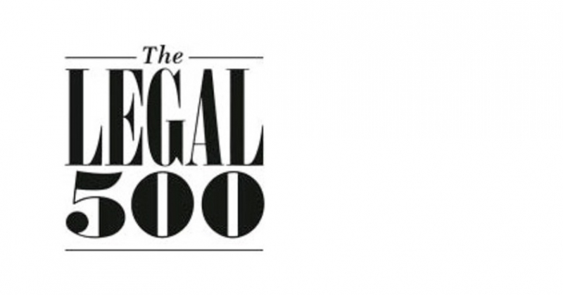 """Law Firm """"SAJIC"""" Recognized in Five Areas of Law in the Legal Directory Legal 500"""